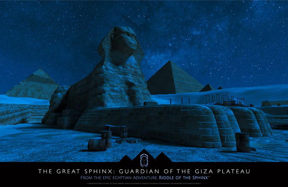 Sphinx Moonlit