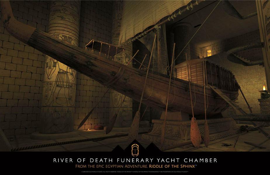 Funerary Yacht